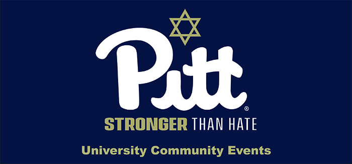Pitt Stronger Than Hate logo