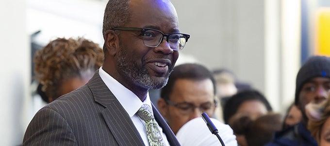 Vice Provost John Wallace