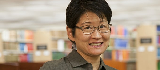 Vice Provost Lu-in Wang