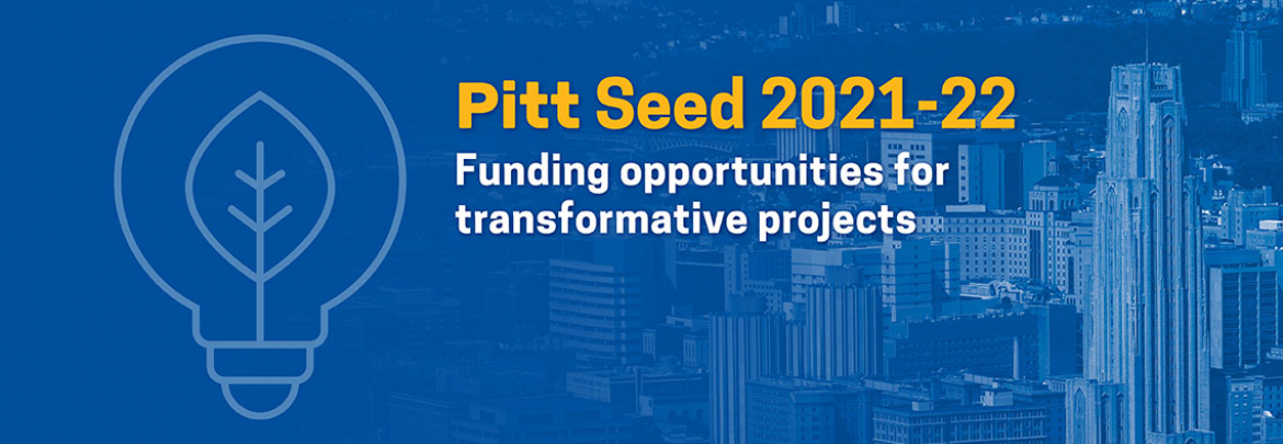 Pitt Seed 2021-22: Funding opportunities for transformative projects